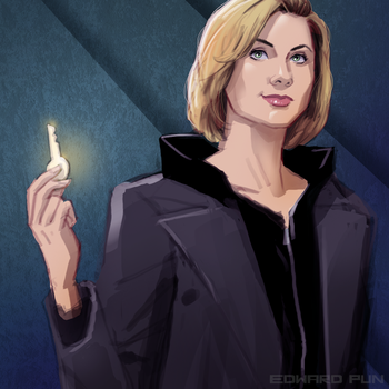 13th Doctor by pungang