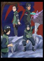 Team Asuma Our Time is Coming by BotanofSpiritWorld