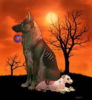 Zombie dogs, oh YES. by PleasedAsPunch
