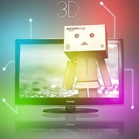 3d tv by ZackScream