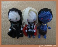 Loki, Thor and Jotun Loki by Yuki87
