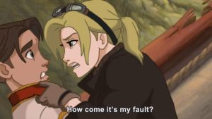 How Come Its My Fault Treasure Planet 2 by Izumii89