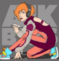 Teh Colored Leather Raver by a1000bejezus