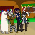 To the Haunted House by sandapolla