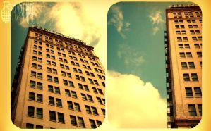 buildings in the sky by OiScoutHaley