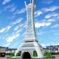 SSB - Lumiose City recreation by RebelliousTreecko