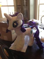 Ready Rarity by SweetwaterPony