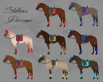 ELS Horse Dressage Equipment - Stallions by michelle222