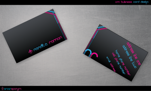 C.M card design by kunthi