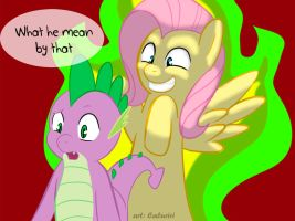Helping-fluttershy3 by caluriri