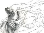 Lady Ghost Rider by theopticnerve