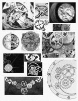 Clockwork Collage by T-babe