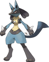 Lucario v.2 by Xous54