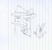 Agent P Wants you by bpen42
