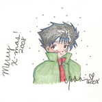 YYH Christmas - 6 - Hiei by yoshimiU23