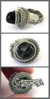 Black ring by Faeriedivine