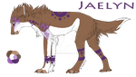 Jaelyn || Official Fursona Reference by HORSEGIRL031999