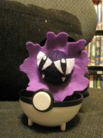 Gastly Plush by Vulpes-Canis