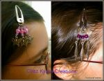 barrettes clic-clac by ChezKyaraCreations