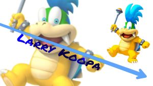 Larry Koopa by LostCrystal