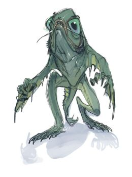 Innsmouth's Creature. by pietro-ant