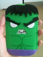 Hulk Mobile Case by anapeig