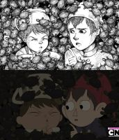 Ssh! -You SSH! .:Over The Garden Wall:. by crimsonian-leviosa