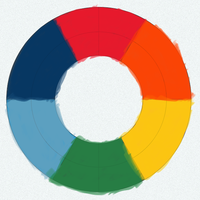 Recreating Goethe color wheel by qubodup