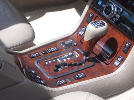 Mercedes 2002 SL600 Gearshift by David3State
