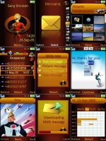 Sony Ericsson Incredibles by ivanraposo