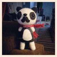 panda Baron Von Mustache by AAMurray