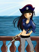 Pirate-y Art trade by CreamyCombustion