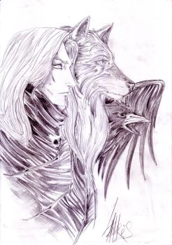 Alucard and his transforms by Lantaris