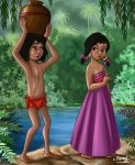 MOWGLI AND SHANTI by FERNL