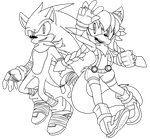 Omiza: Sonic and Zyr (1-1) by mexame