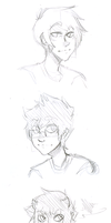 Homestuck: Sketches by Le-Juge