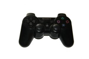 Black PS3 Controller Stock by Photshopmaniac