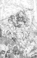 Red Sonja Cover1 by santiagocomics