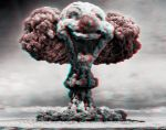 Atomic Clown 3-D conversion by MVRamsey