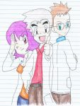 PokemonProfessors First 3 Prof by PrettyDarkMagicianGi