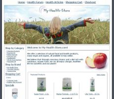 My-Health-Store.com - Updated by R-a-j