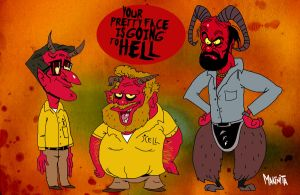 Your Pretty face is going to hell by Makinita