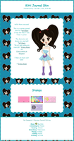 Journal Skin for Kittilaura by Zinnia-Aster