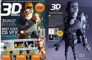 3D World Magazine by fabriciocampos