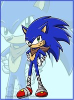 Sonic Boom: Sonic by Amandaxter