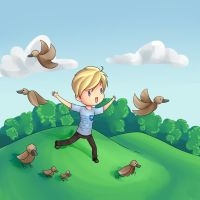 Pewdiepie Ducks by Drawn-Mario