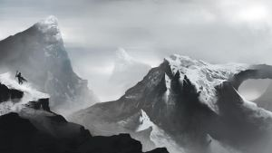 MountainTop by MaBuArt