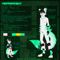 Peppermint reference sheet by pandalecko