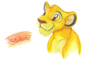 cub Simba by LionessFortune