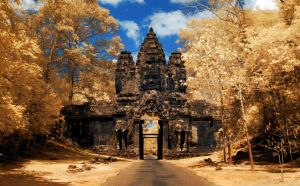 Bayon - South gate by abiiprayadi